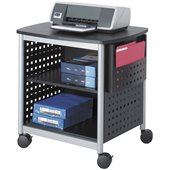 Safco Scoot Printer Stand in Black