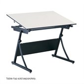 Safco PlanMaster Height-Adjustable Drafting Table Base