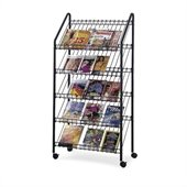 Safco Mobile Literature Rack
