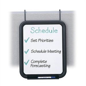 Safco PanelMate Dry-Erase Markerboard (Set of 6)