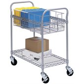 Safco 24W Wire File Cart