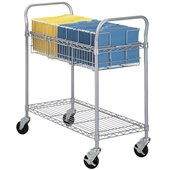 Safco 36W Wire File Cart