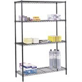Safco 48x18 Commercial Wire Shelving