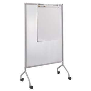 Safco Impromptu Full Polycarbonate Screen in Gray - 8510GR