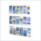 Safco Clear2c 18 Pamphlet Display