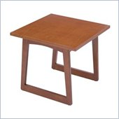 Safco Workspace Urbane Cherry Corner Table
