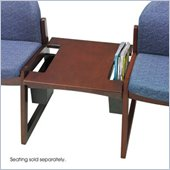 Safco Workspace Urbane Mahogany Straight Connecting Table