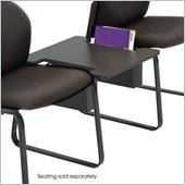 Safco Workspace Forge Collection Steel Black Straight Connecting Table