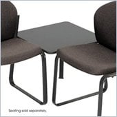 Safco Workspace Forge Collection Steel Black Corner Connecting Table