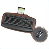 Safco Premier Series Keyboard Platform with Control Zone