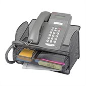 Safco Onyx Mesh Telephone Stand With Drawer (Qty. 5)