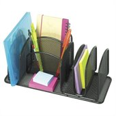 Safco Onyx Deluxe Organizer, Set of 6