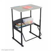 Safco AlphaBetter 20 x 28 Student Desk in Beige