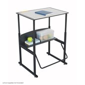 Safco AlphaBetter 20 x 28 Student Desk in Gray