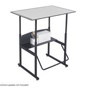 Safco AlphaBetter 24 x 36 Student Desk in Gray
