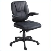Safco Incite Mid Back Chair in Black