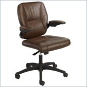 Safco Incite Mid Back Chair in Brown