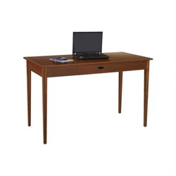 Safco Apres Table Desk in Cherry