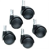 Safco Hard Casters (Set of 5)