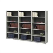 Safco ValueMate 5 Shelf Wall Economy Steel Bookcase