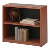 Safco 2-Shelf ValueMate Economy Bookcase in Cherry