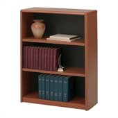 Safco 3-Shelf ValueMate Economy Bookcase in Cherry