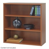 Safco Aprs Modular Storage Open Bookcase in Cherry