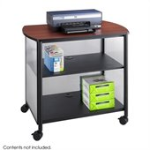 Safco Impromptu Deluxe Machine Stand in Black
