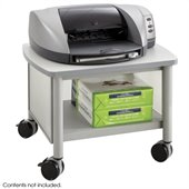 Safco Impromptu Under Table Printer Stand in Gray