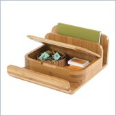 Safco Bamboo Small Organizer in Natural (Set of 4)