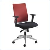 Safco Tez Manager Chair in Tabasco