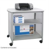 Safco Impromptu Deluxe Machine Stand in Gray