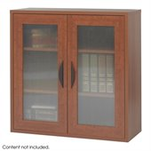 Safco Apres Modular Storage 2 Door Cabinet in Cherry