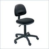 Safco Precision Armless Desk Height Office Chair in Black