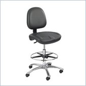 Safco True Comfort Black Economy Workbench Chair