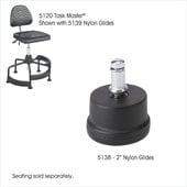 Safco 2 Nylon Glides for Drafting Chairs