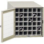 Safco 38 36 Compartment Metal Roll Files in Tropic Sand