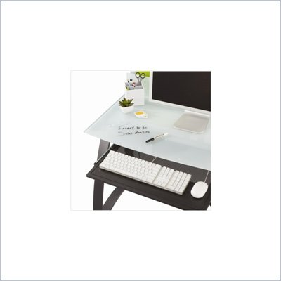 Safco Xpressions Keyboard Tray in Black
