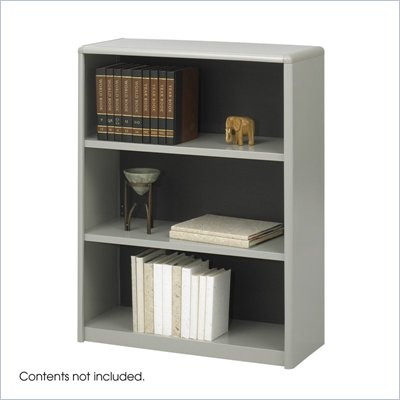 Safco 3-Shelf ValueMate Economy Steel Bookcase
