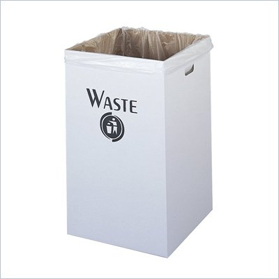 Safco Corrugated Waste Receptacle (Set of 12)