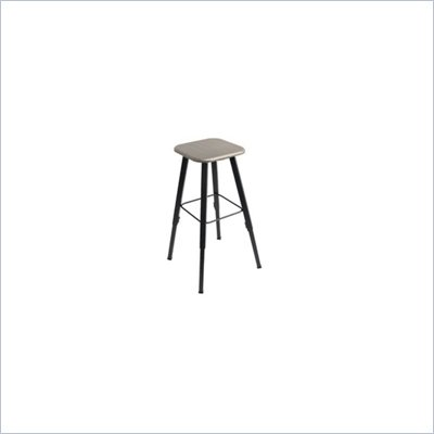 Safco AlphaBetter Student Adjustable Height Stool with Beige Seat