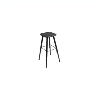 Safco AlphaBetter Student Adjustable Height Stool with Black Seat