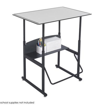 "Safco AlphaBetter 24"" x 36"" Student Desk in Gray"