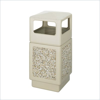 Safco Canmeleon Aggregate Panel, Side Open, 38 Gallon