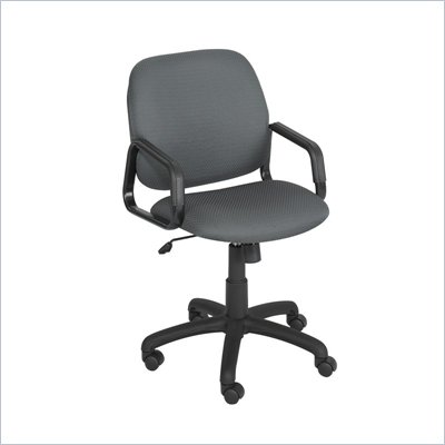 Safco Cava High Back Task Chair in Charcoal