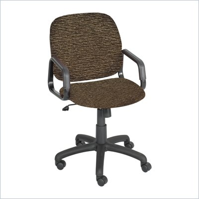 Safco Cava Urth High Back Chair in Brown