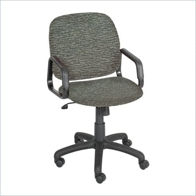 Safco Cava Urth High Back Chair in Gray