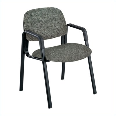 Safco Cava Urth Straight Leg Guest Chair in Gray
