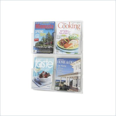 Safco Clear2c Magazine and Pamphlet Displays