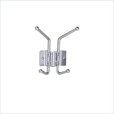 Safco 2 Hook Wall Coat Rack Hook (Set of 12)